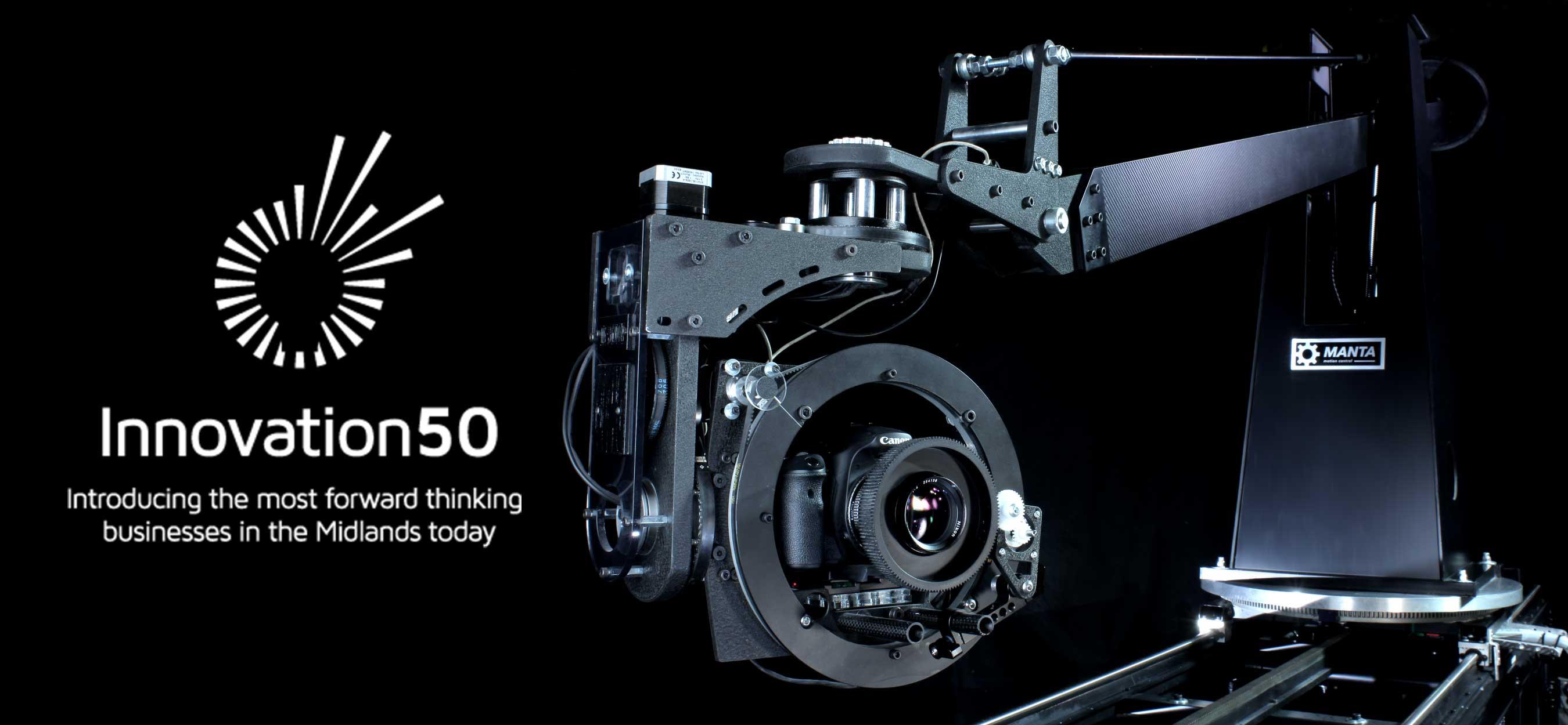 Manta Motion Control Rig - Innovation 50