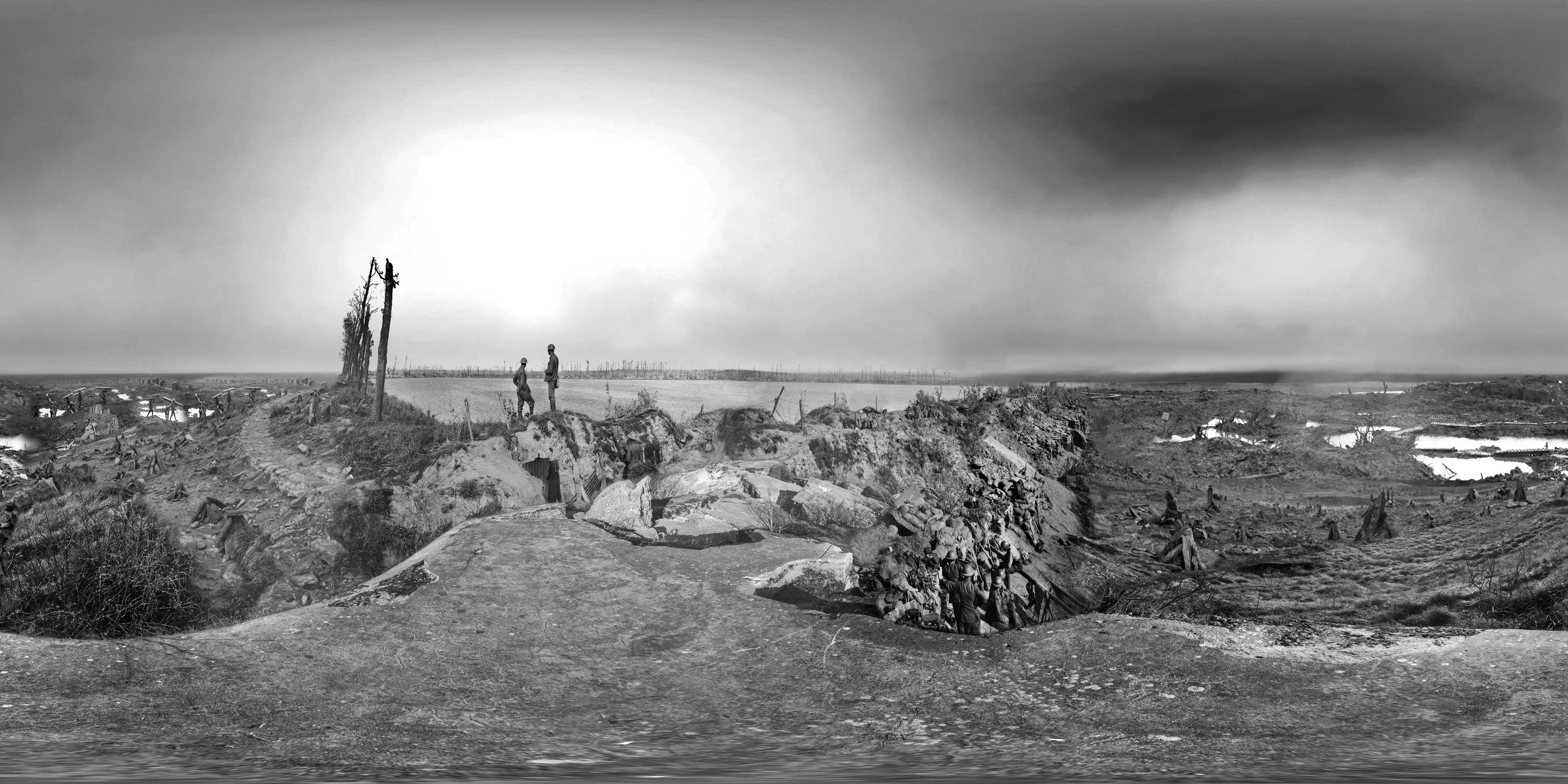Commemoration of the Battle of Passchendaele - Still from Immersive Experience 02