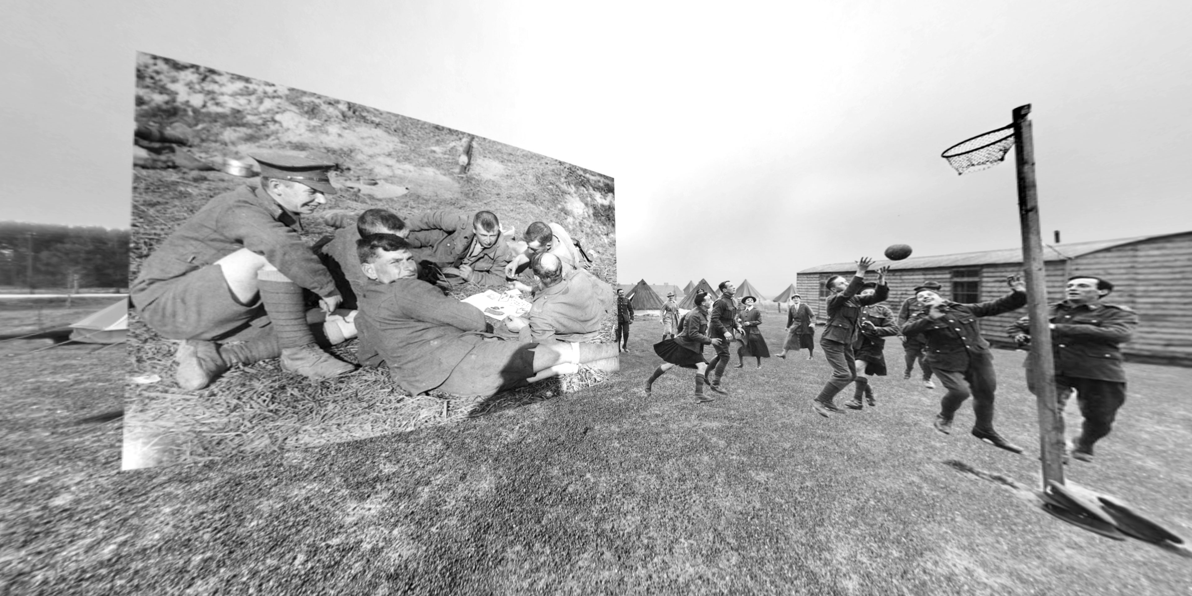 Commemoration of the Battle of Passchendaele - Still from Immersive Experience 05