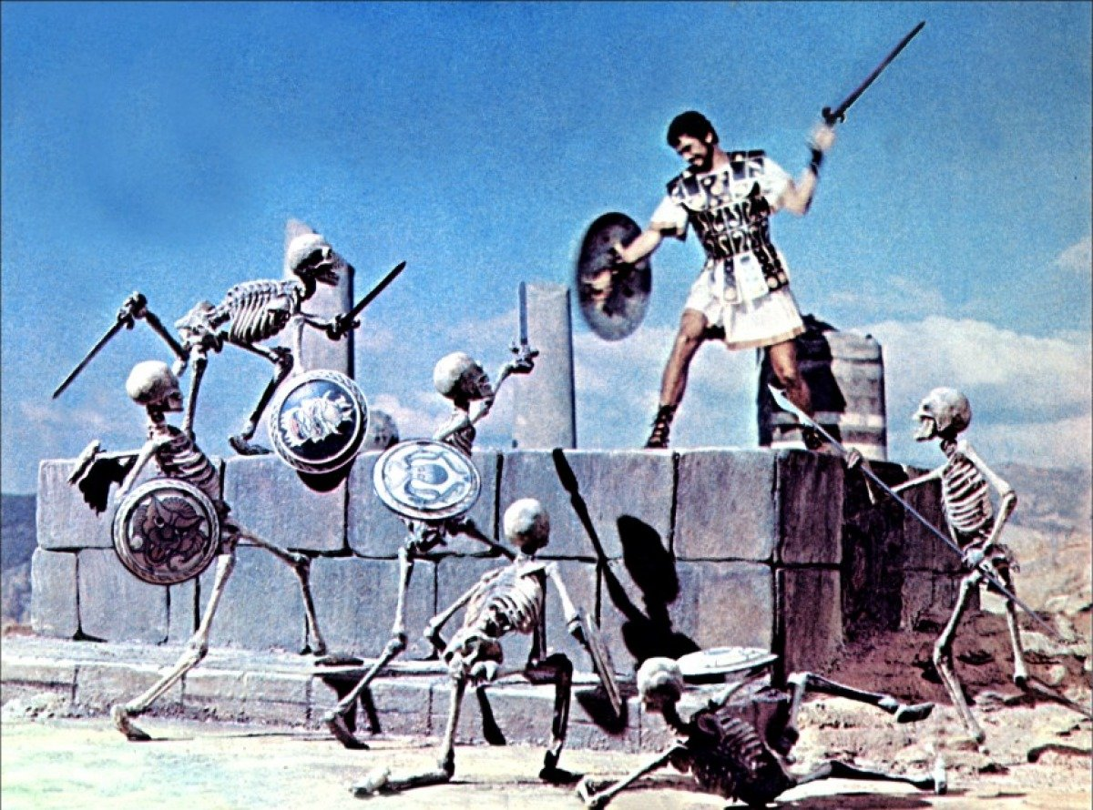 Outnumbered. Still from Jason and The Argonauts.