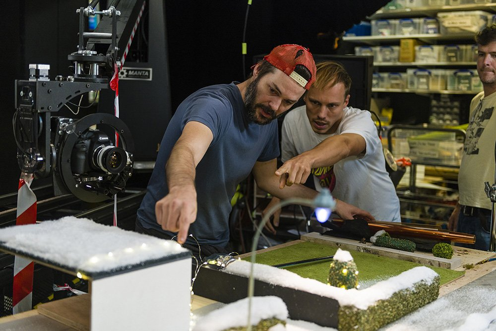 Stop Motion Animation - Behind the scenes