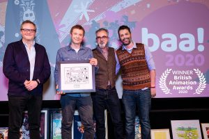 Best Film and TV Motion Design winners at the British Animation Awards