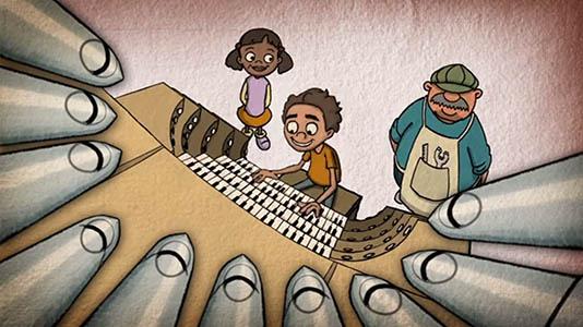 Short Films - The Mechanical Musical Marvel