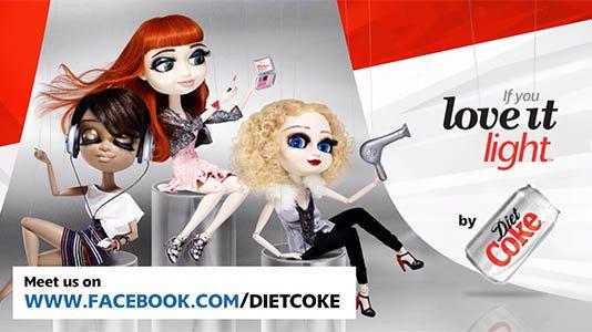 Puppetry - Diet Coke