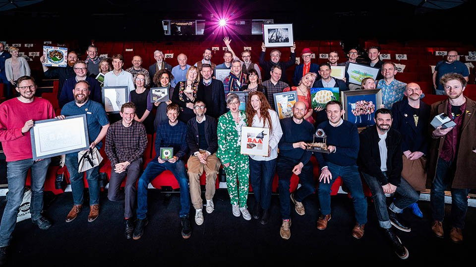 Group Photograph of all the British Animation Award Winners 2020
