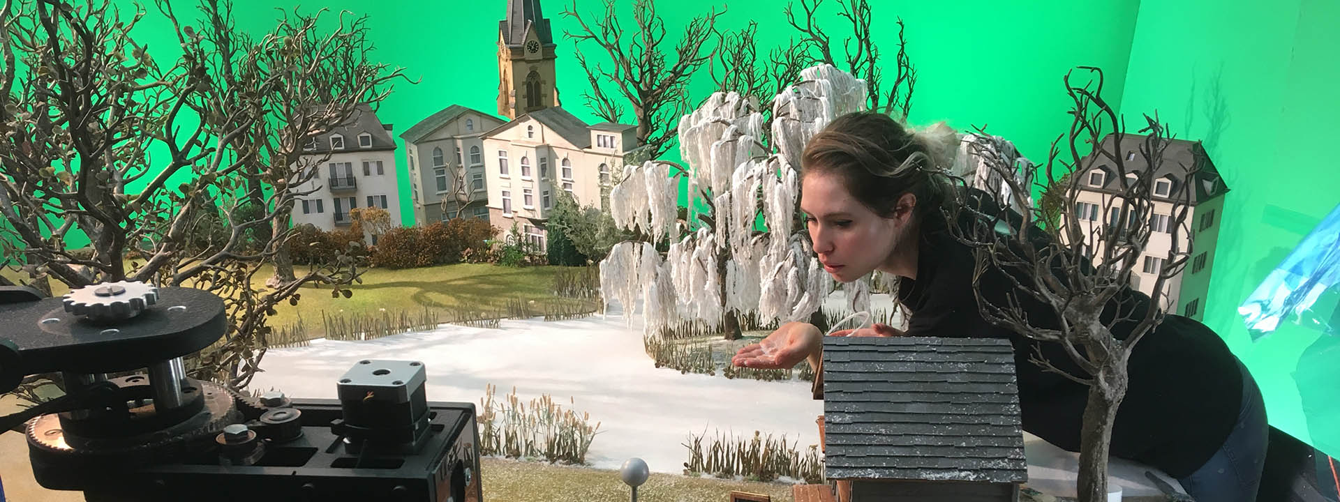 Animation Services - A model set for a stop motion animation.