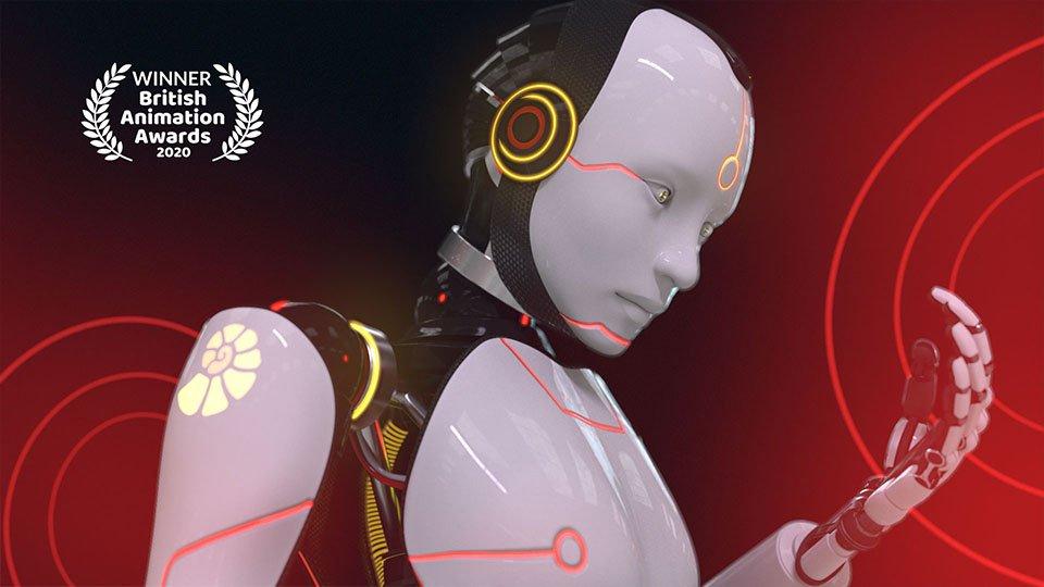 British Animation Award winner for Da Vinci Learning