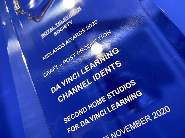 Royal Television Society Award for Da Vinci Learning