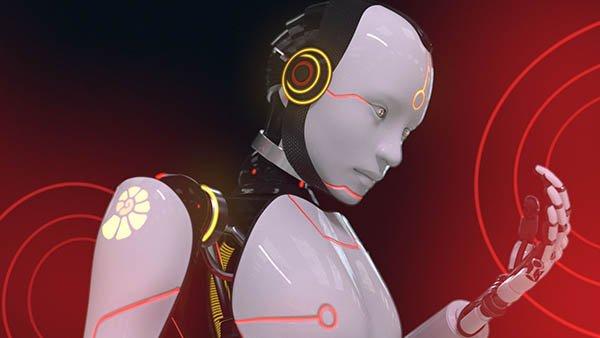 Da Vinci - 2.1 Ident - Robot 3D Animation