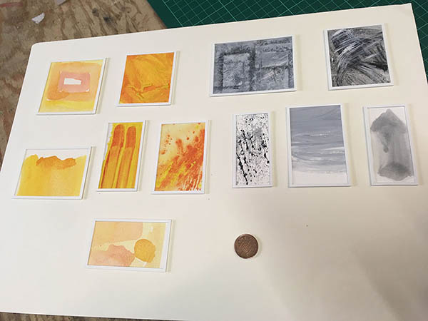 Da Vinci - Gallery Ident - Tiny pieces of modern art