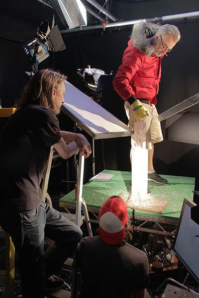 Da Vinci - Ice Ident - Rehearsing the ice core pull