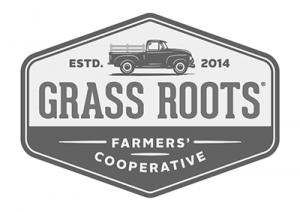 Grass Roots Logo - Grey
