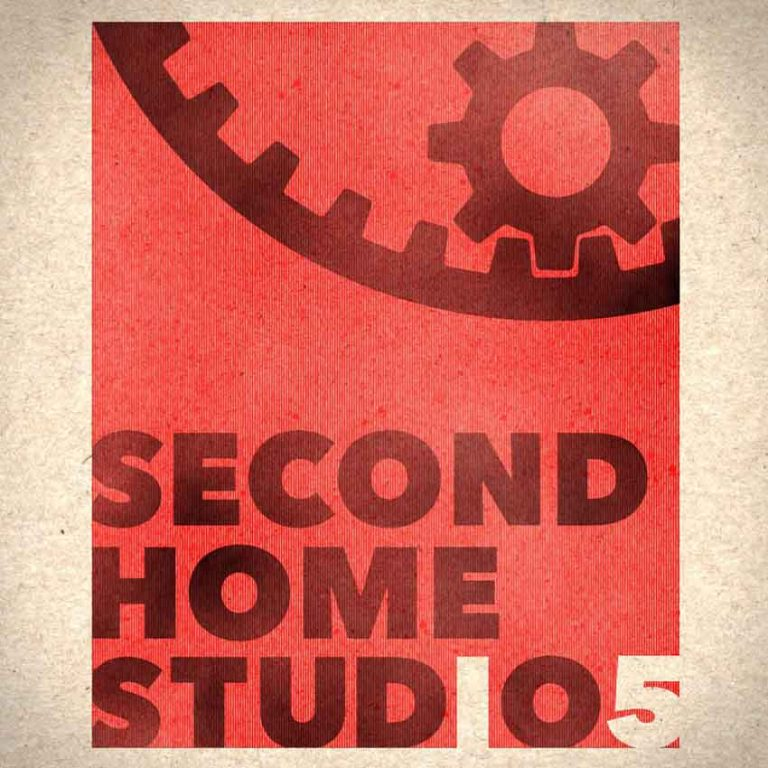 Modified Second Home Animation Studios Logo to commemorate 15th Anniversary.